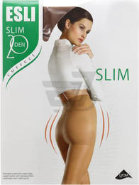 Колготи SLIM 20 MARRONE TM  ESLI 3(р)